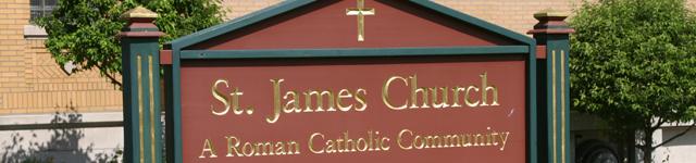 St. James Roman Catholic Church header image